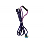 Bulk buys Double dog leash with comfortable handle: assorted colors