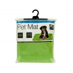 Plush Pet Mat With Anti-Slip Bottom: assorted colors