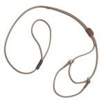 "Mendota Martingale Show Lead: Tan, Large 12"", 1/8"" x 40"""