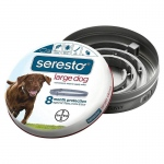 Bayer Seresto Flea and Tick Collar for Dogs Large Gray