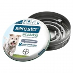 Bayer Seresto Flea and Tick Collar for Dogs Small Gray