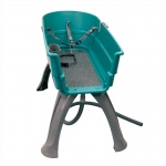 "Booster Bath Elevated Dog Bath and Grooming Center Flat Rate Shipping Large Teal 45"" x 21.25"" x 15"""