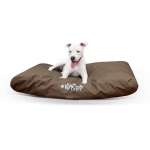 "K&H Pet Products K-9 Ruff n' Tuff Indoor-Outdoor Pet Bed Large Chocolate 36"" x 48"" x 4"""