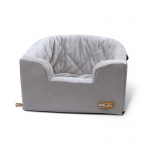 "K&H Pet Products Hangin' Bucket Booster Pet Seat Gray 16.5"" x 13.5"" x 30"""