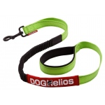 Dog Helios Neo-Indestructible Easy-Tension Sporty Embroidered Thick Durable Pet Dog Leash: Large, Green