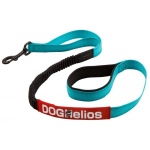 Dog Helios Neo-Indestructible Easy-Tension Sporty Embroidered Thick Durable Pet Dog Leash: Small, Aqua Blue