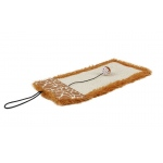Pet Life 'Scrape-Away' Eco-Natural Sisal And Jute Hanging Carpet Cat Scratcher With Toy: One Size, Brown