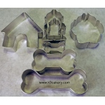 K9 Cakery 7 Piece Dog Theme Cookie Cutters