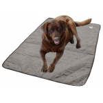HyperKewl Evaporative Cooling Dog Pad: Silver, M